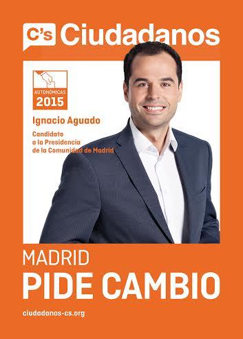 Ignacio aguado inicia en madrid la campa a de ciudadanos for Sede de la presidencia de la comunidad de madrid