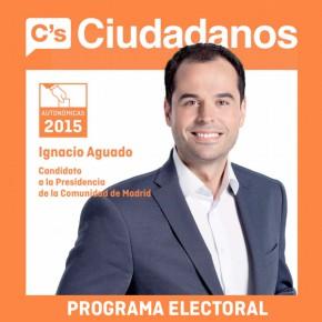 """Programa de C's Comunidad de Madrid """"200 Propuestas para transformar la Comunidad de Madrid"""""""