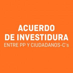 Acuerdo de Investidura entre PP y Ciudadanos-C's Comunidad de madrid