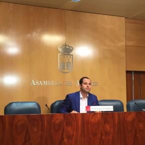 """Ignacio Aguado: """"Ciudadanos apuesta por eliminar la rigidez del reglamento de la Asamblea y acercar la Cámara a los madrileños"""""""