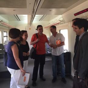 Ciudadanos (C's) reclama un acceso para discapacitados en la estación de Cercanías de Alcalá de Henares