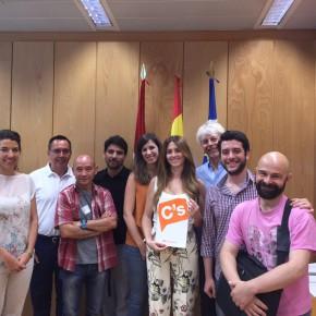 Ciudadanos (C's) Madrid se compromete a mantener el diálogo constante con las asociaciones de artes escénicas