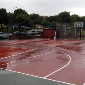 Ciudadanos (C's) Fuencarral solicita la instalación de  una cubierta en la cancha de baloncesto de Isla de Tabarca