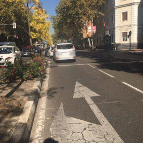 Cuidadanos Madrid Salamanca exige al gobierno que ejecute las propuestas sobre señalización de tráfico que se le acumulan en el distrito