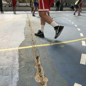 Tras la denuncia de Ciudadanos Madrid Salamanca se reparará el polideportivo Municipal Boston