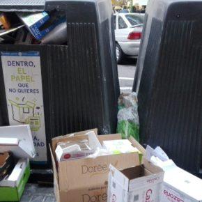 Ciudadanos Madrid Salamanca denuncia que el reciclaje de residuos es una misión imposible para Ahora Madrid