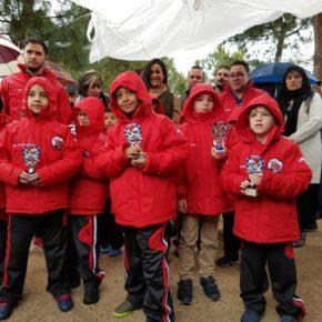 Begoña Villacís acude al acto conmemorativo de la ADC Sanfer de Usera
