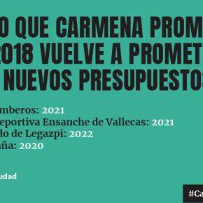 Ciudadanos Villaverde denuncia que los presupuestos para el distrito son una carta a los Reyes Magos lleno de promesas que no se cumplen