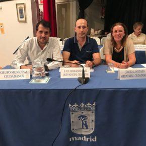 Cs Moratalaz critica que los cinco grandes problemas del distrito siguen sin solucionarse con el gobierno de Ahora Madrid