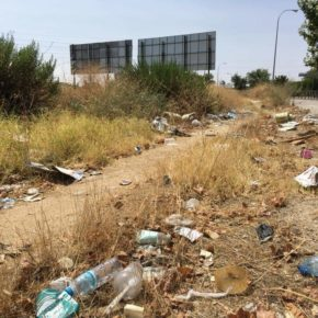 Ciudadanos Villaverde logra que la calle Laguna Dalga sea considerada vía preferente para los servicios de limpieza