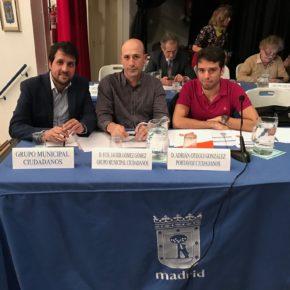 Ciudadanos Moratalaz propone la instalación de nuevas zonas de aparcamiento de motos en zonas estratégicas del distrito
