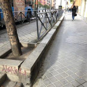 Ciudadanos Retiro solicita mejoras en el tramo de la Avenida Ciudad de Barcelona entre Luis Mitjans y Catalina Suárez