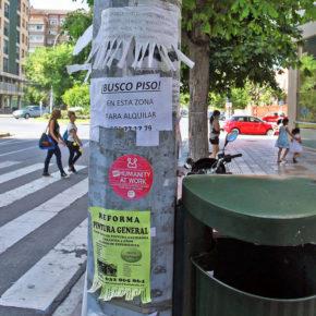 Ciudadanos San Blas-Canillejas logra que se retiren los carteles publicitarios de las farolas, báculos y señales de tráfico.