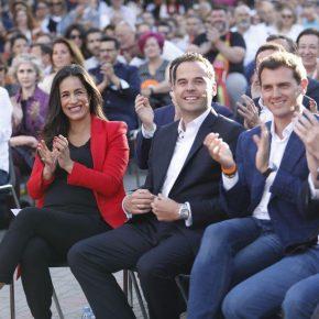 """Begoña Villacís: """"Madrid no necesita cuatro años más de populismos, Madrid necesita igualdad, necesita solidaridad, necesita libertad"""""""