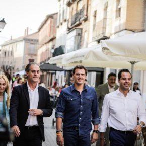"""Rivera: """"Estamos muy cerca de ganar y de conformar un Gobierno naranja, liberal y reformista en Madrid"""""""
