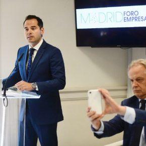 """Aguado: """"Cuando sea presidente de la Comunidad de Madrid, trabajaré por una región que genere riqueza y la invierta con sentido común y transparencia"""""""