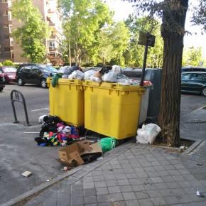 Ciudadanos Villaverde consigue que la Junta de Distrito se comprometa a aumentar la frecuencia de recogida de basura