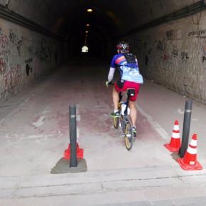 El Túnel Norte cuenta ya con los medios disuasorios al acceso de vehículos solicitados por Ciudadanos Fuencarral El Pardo