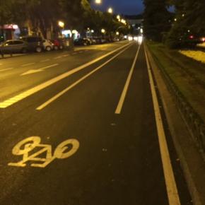 Ciudadanos Arganzuela denuncia que Rommy Arce se salta  al pleno y no cambiará el carril bici de la calle Toledo