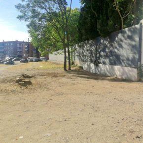 """Ciudadanos Villaverde denuncia la """"escombrera"""" aledaña al colegio Ntra. Sñra de la Luz y reclamará su rehabilitación integral"""