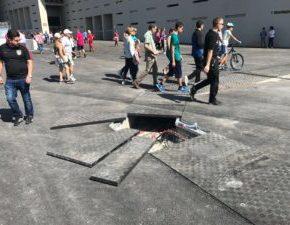 Ciudadanos San Blas-Canillejas denuncia la mala gestión de Ahora Madrid con la llegada del Wanda metropolitano al distrito.