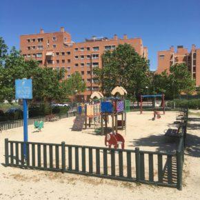 Ciudadanos Vicálvaro propone la instalación de un sistema de protección en los parques infantiles del distrito