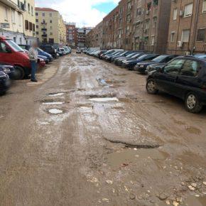 Ciudadanos Ciudad Lineal cuestiona que el proyecto de asfaltado y arreglo de las calles San Emilio y Ricardo Ortiz esté para 2018