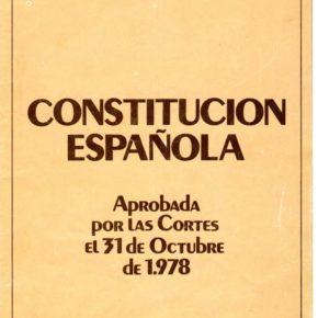 Ciudadanos Retiro propone conmemorar el 40º aniversario de la Constitución en el Pleno del Distrito de diciembre