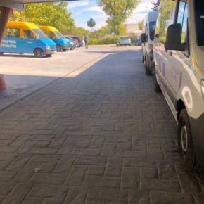 Ciudadanos San Blas-Canillejas ha logrado el arreglo definitivo de uno de los patios del centro de mayores Pablo Cassals