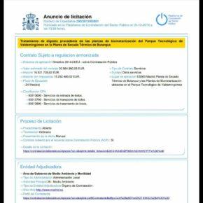 Ciudadanos (Cs) Villaverde denuncia el trasvase de 100.000 toneladas de residuos de Valdemingómez a la planta de Butarque