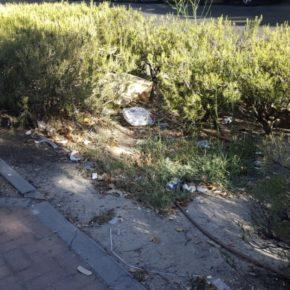 Cs Carabanchel pide explicaciones urgentes y contundentes sobre la proliferación de focos de suciedad en el distrito