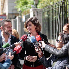 """Sofía Miranda: """"Reduciremos 40 millones en subvenciones a dedo y chiringuitos y lo invertiremos en limpiar Madrid"""""""