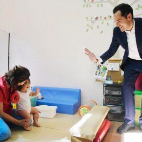 """Aguado: """"Cuando sea presidente, eliminaré las listas de espera de atención temprana para niños con discapacidad"""""""